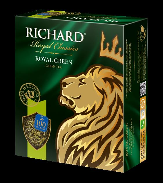 Чай Richard Royall Green 2гр 100пак.