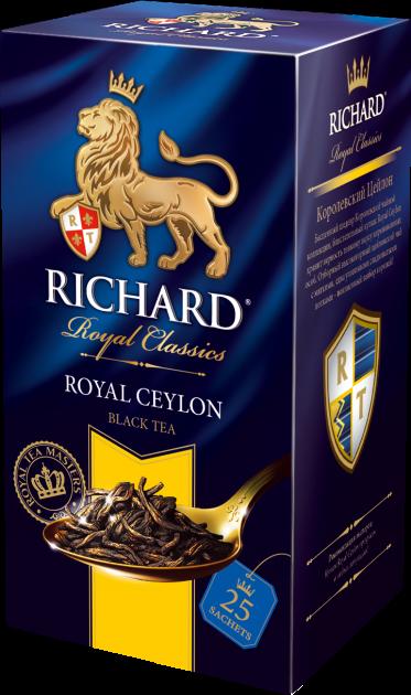 Чай Richard Royal Ceylon 2гр 25пак.конв (сашет)