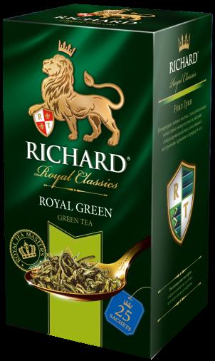 Чай Richard Royal Green 2гр 25пак.конв (сашет)
