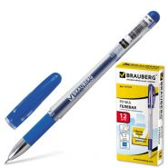 Ручка гель синяя BRAUBERG Geller /12/144 141179