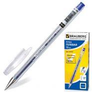 Ручка гель синяя BRAUBERG Zero 0,5мм /12/144 141019