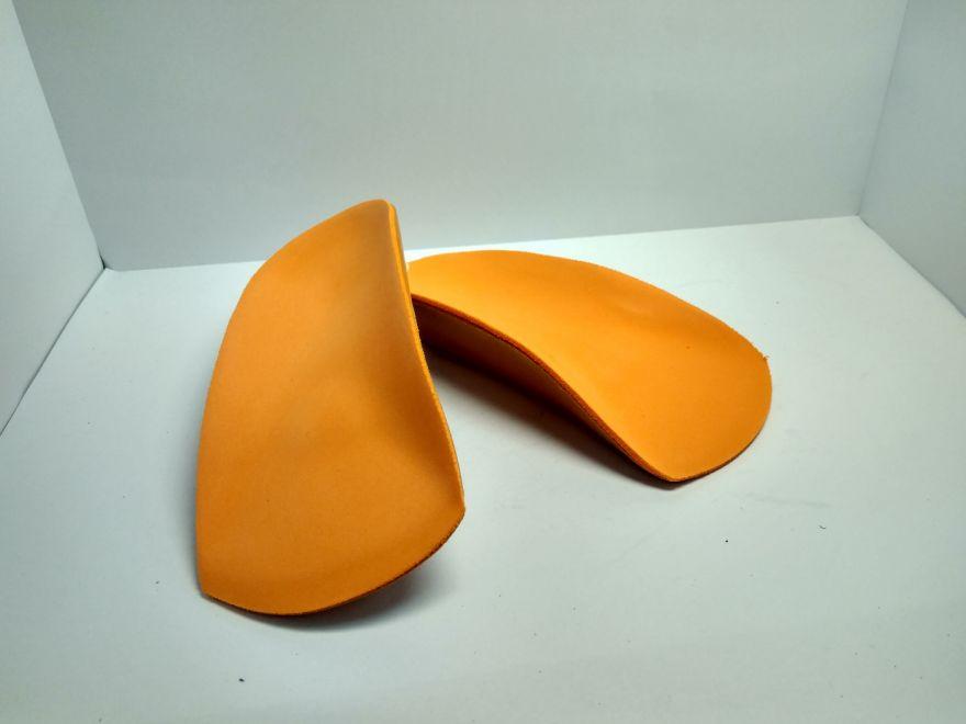 Стелька ортопедическая оранжевая