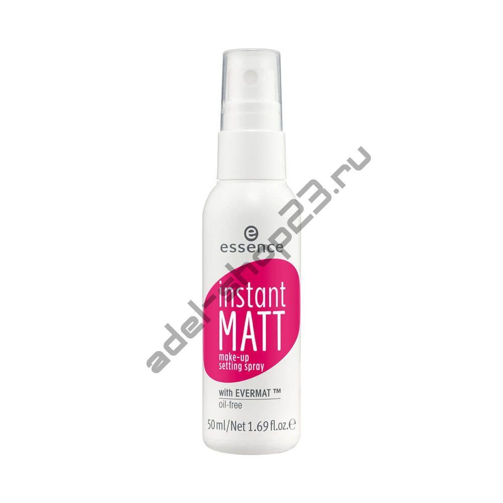 "Essence - Спрей для фиксации макияижа ""Instant Matt"""