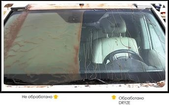 Средство для защиты стекол автомобилей Антидождь