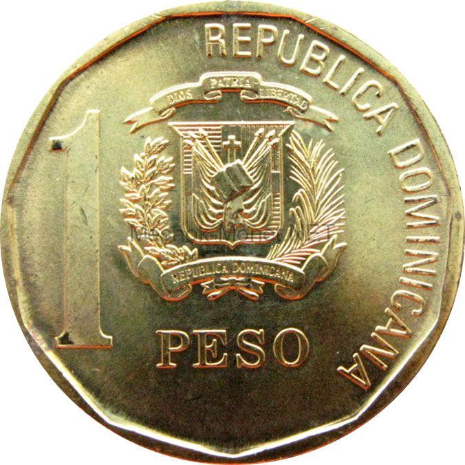Доминиканская республика 1 песо 2008 г.
