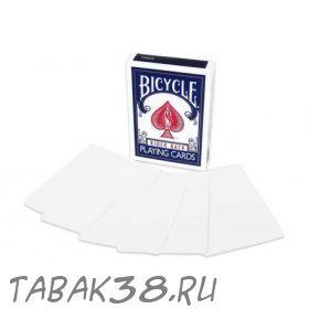 Карты Bicycle пуcтое лицо и рубашка (double blank)