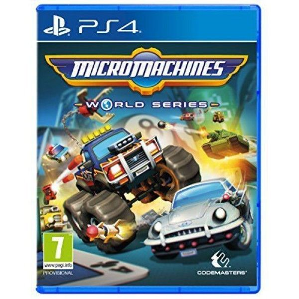 Игра MicroMachines World Series (PS4)