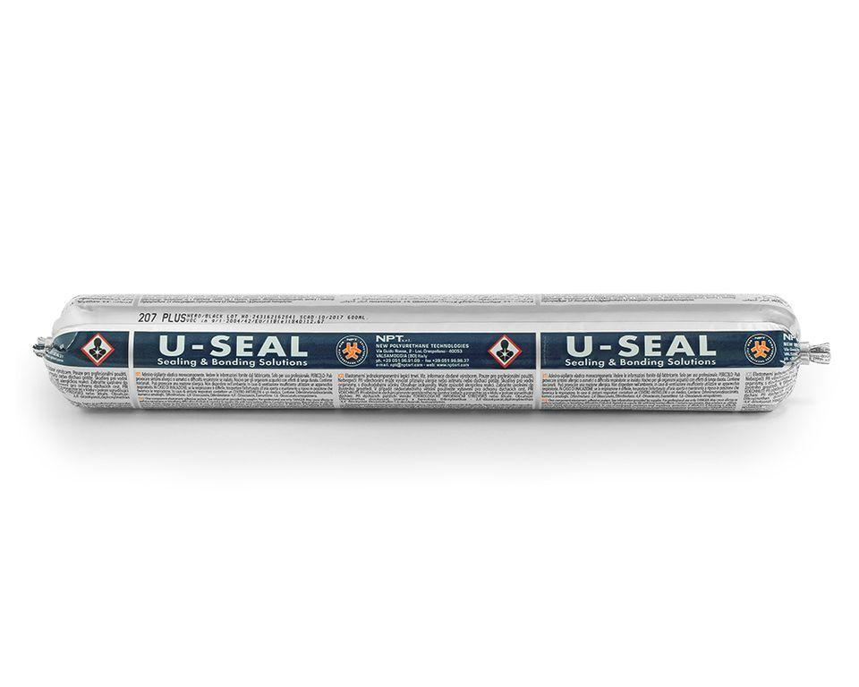 U-seal Полиуретановый клей для вклейки стекол,время высыхания 3 часа,600 мл.