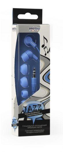 Наушники внутриканальные Smartbuy JAZZ (синие)