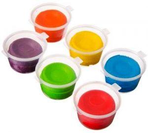 Тесто для лепки упаковка 6 цветов