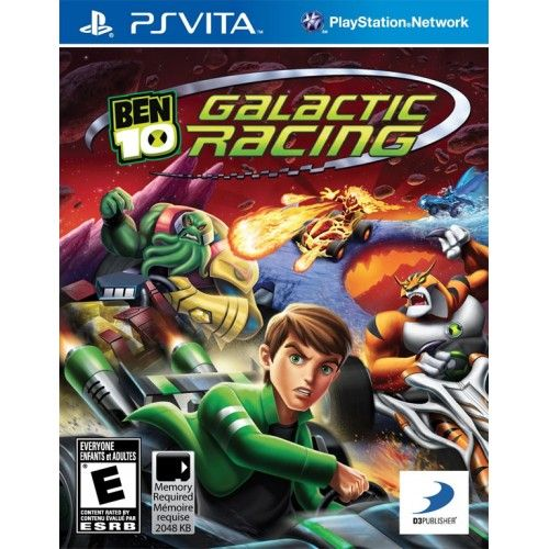 Игра Ben 10 Galactic Racing (PS Vita)
