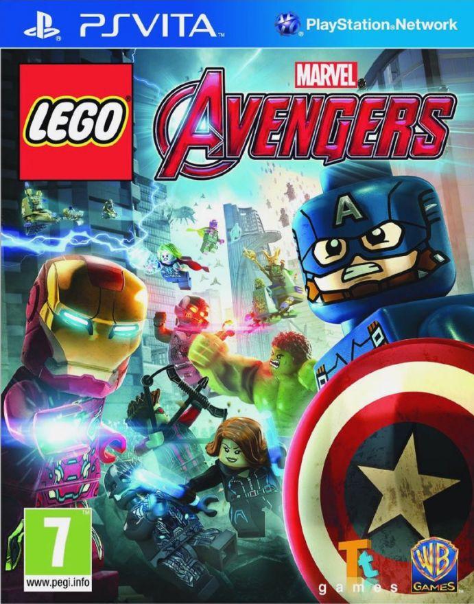 Игра Lego Marvel Avengers Мстители (PS Vita)