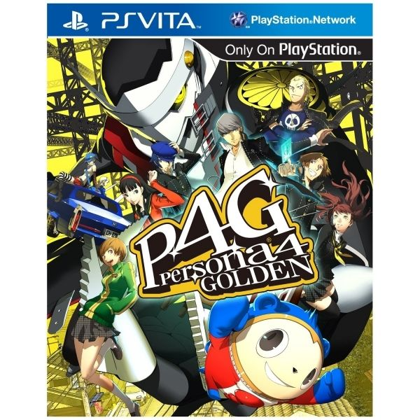 Игра Persona 4 Golden (P4G) (PS Vita)