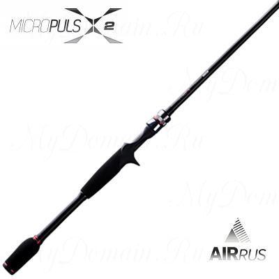 Удилище кастинговое Airrus Micropuls X2 MX2662MHXF-C 200 см, 2 секции, 5-21 гр, вес 153 гр, транспортная длина 102 см.