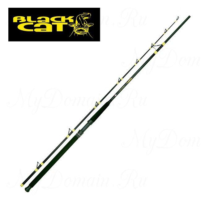 Удилище для ловли сома Black Cat DF Passion Pro II 300 см, 2 секции, 300-600 гр, вес 580 гр, транспортная длина 155 см.