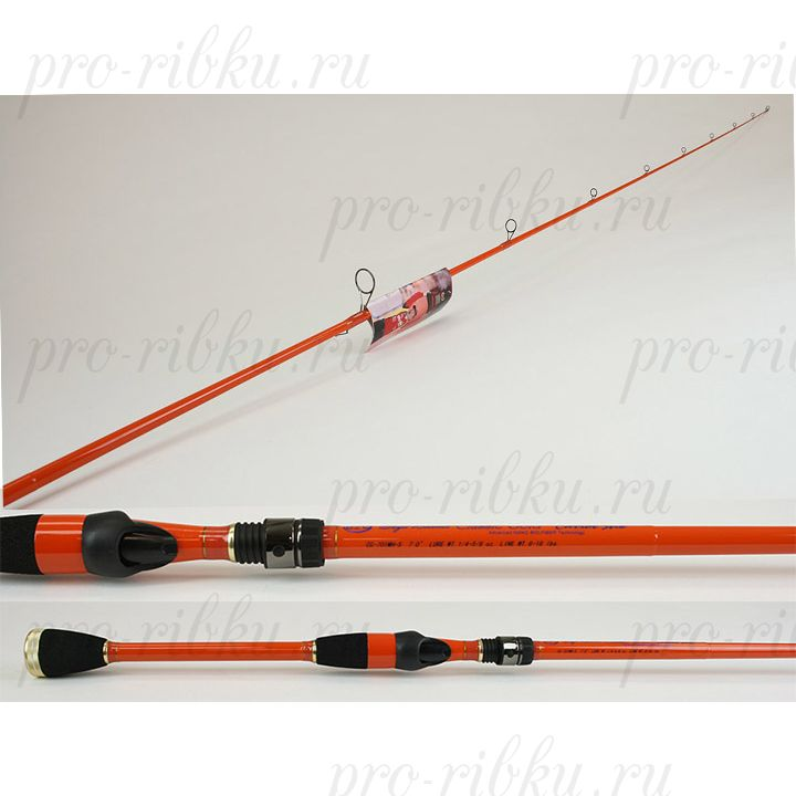 Спиннинг Carrot Stix Boyd Duckett Classic Gold 214 см, 1 секция, 7-18 гр, вес 117 гр, Fast