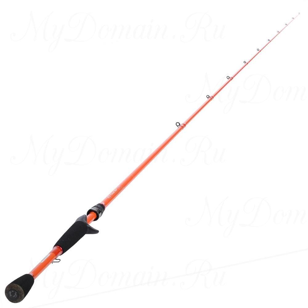 Спиннинг Carrot Stix Original PRO GRADE 221 см, 1 секция, 10-21 гр, вес 138 гр, Fast