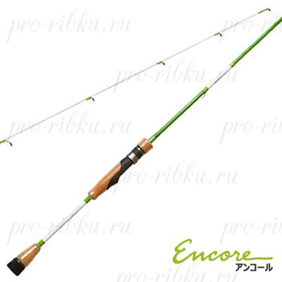 Спиннинг Encore Nemesis-S732UL 222 cм, 2 секции, 2-7 гр, вес 100 гр, транспортная длина 114 см, Extra Fast