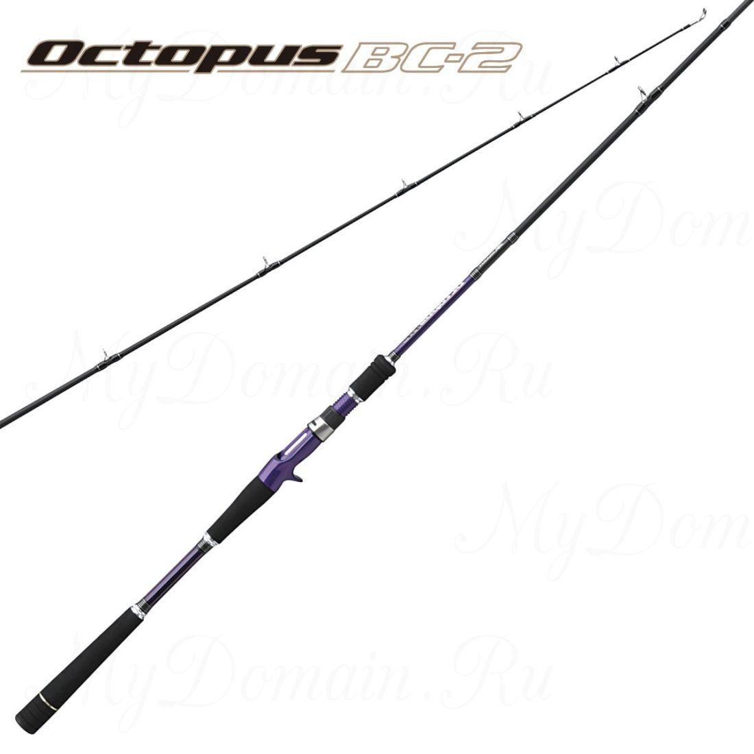 Удилище кастинговое Prox Octpus BC2 702H 217 см, 2 секции, maкс. 56 гр, вес 185 гр, транспортная длина 110 см.
