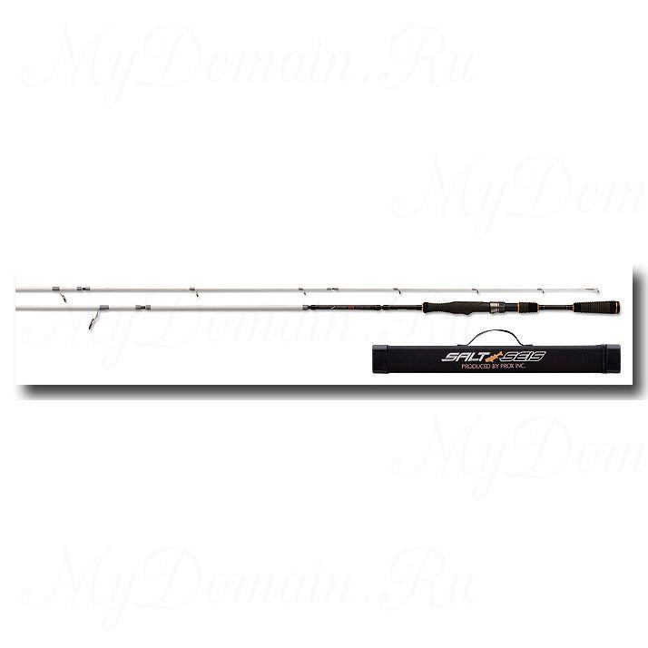 Спиннинг - травеллер ProxSalt Seis TE8086ML 259/244см, 5 секций+1 вставка, 9.5-23гр, вес 158 гр, транспортная длина 57см.