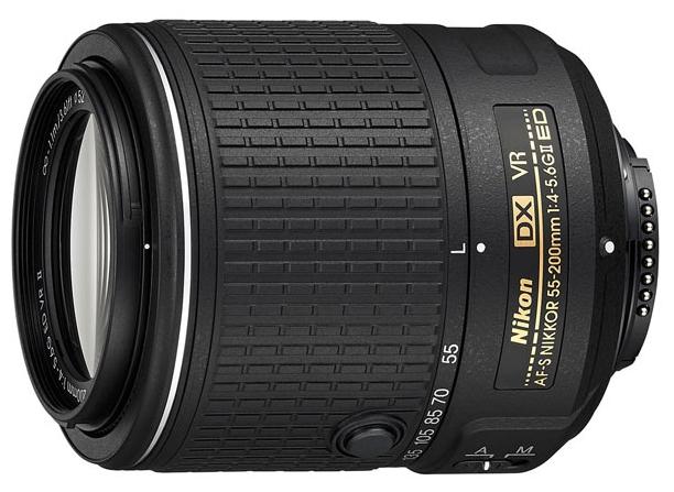 Nikon 55-200mm f/4-5.6G AF-S DX VR ED   Nikkor
