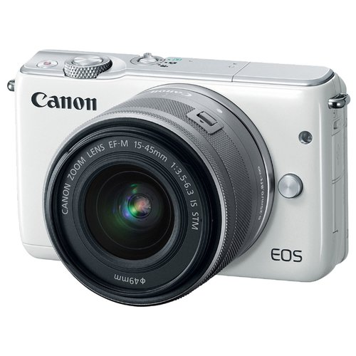 Canon EOS M10 Kit 15-45 IS STM white
