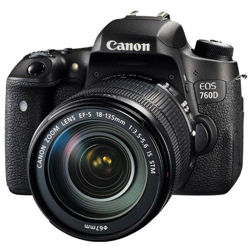 Canon EOS 760D Kit 18 135mm is stm