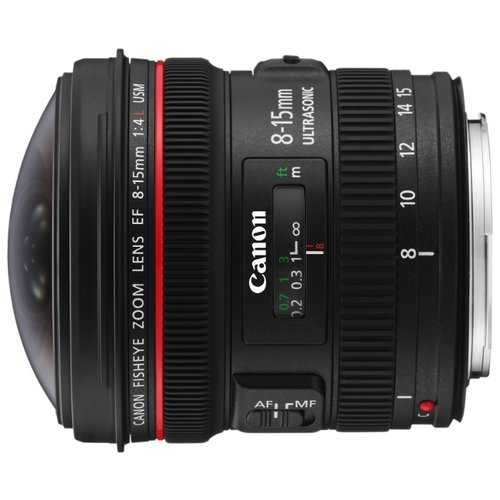Canon EF 8-15mm f/4.0L Fisheye USM