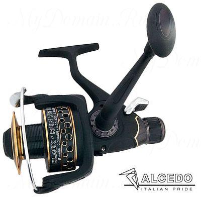 Катушка безынерционная Alcedo Black Run 4010, передат. отн. 5,1:1; подшипники 10+1; вес 330 гр.