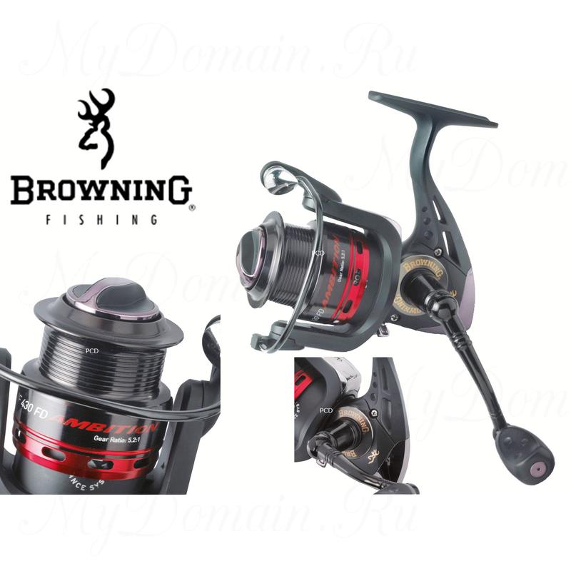 Катушка безынерционная Browning Ambition M/F FD 430, 3+1; 5.2:1; 438 g