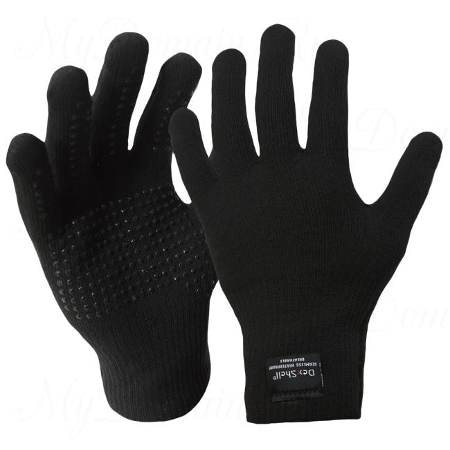 Перчатки водонепроницаемые DexShell Waterproof TouchFit Coolmax Gloves легкие дышащие размер 36-38 (S)