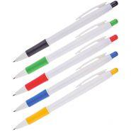 Ручка шар авт синяя OficceSpace 0.7мм грип белый корпус BPRWH115_1340