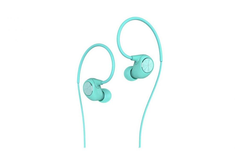 Стерео-наушники LeEco Reverse In-Ear Headphones голубые