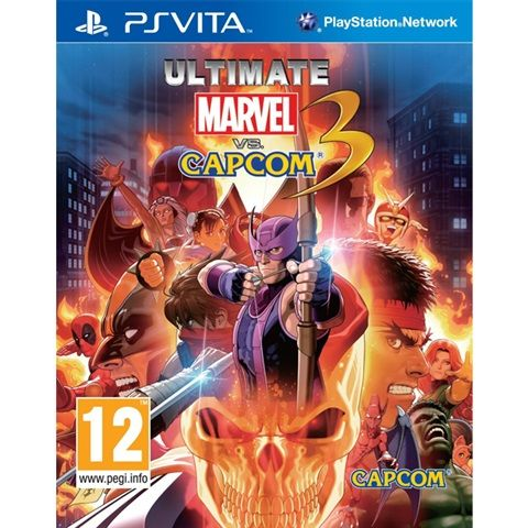 Игра Ultimate Marvel vs. Capcom 3 (PS Vita)