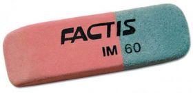 Ластик FACTIS 45*14.5*7.5мм комбин. IM60