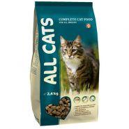 ALL CATS Корм для кошек (2,4 кг)