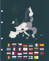 Набор листов промежуточных OPTIMA под евро черный