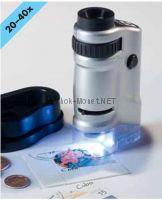Микроскоп со светодиодной подсветкой увеличение от 20 до 40 раз