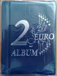 Карманный альбом для 48-ми 2-евровых монет Содержит 6 листов
