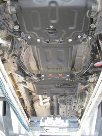 Защита Картера, КПП, Раздатки (Сталь 2 мм)  для Toyota Land Cruiser Prado 150 2010