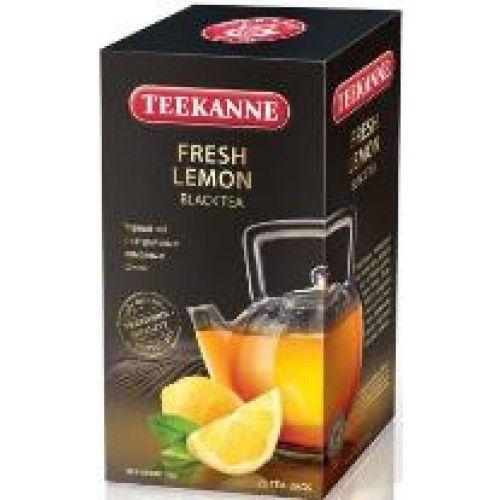 Чай TEEKANNE черный Фреш Лимон 2гр конв. 25 пак.