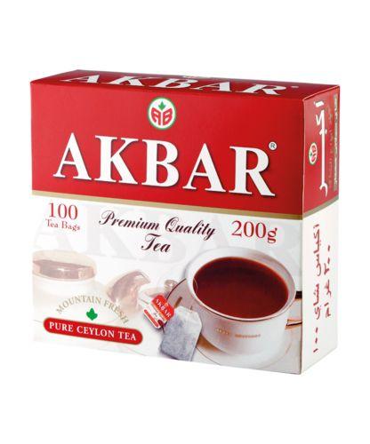 Чай Акбар 2г с/я 100пак.