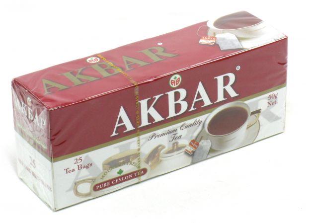 Чай Акбар 2г с/я 25пак.