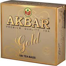 Чай Акбар Голд 2г с/я 100пак.