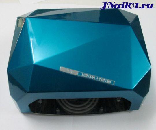 "UV-LED Лампа 36W ""Crystal"" blue (10,20,30сек)"