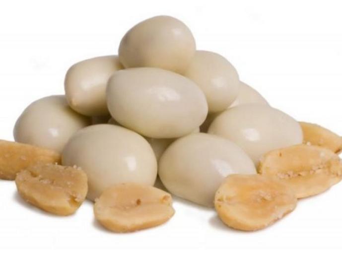Арахис в йогурте