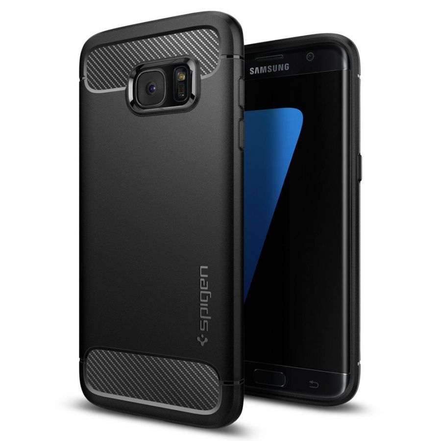 Чехол Spigen Rugged Armor для Samsung S7 Edge