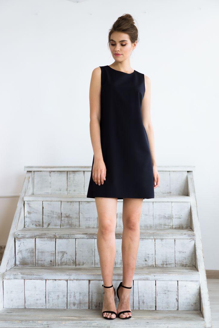 434 Платье без рукавов