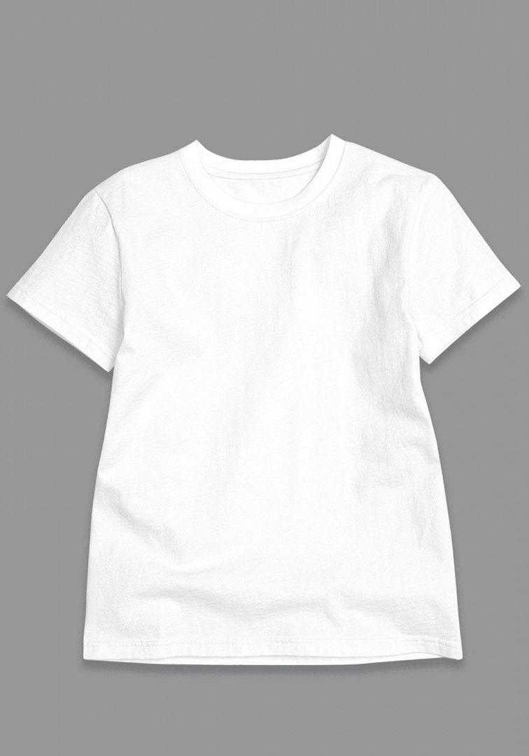 Белая футболка для мальчика от Пеликана