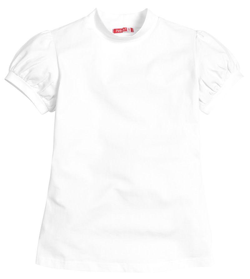 Белая футболка для девочки 7 лет